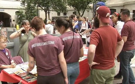 Philadelphians gather for World Refugee Day