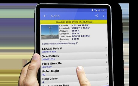Mobile data collection solution from GeoSpatial Experts