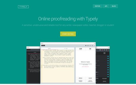 Typely: free online proofreading