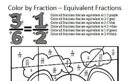 Color by Fractions