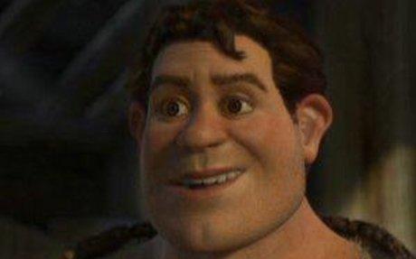 Shrek Drinks Potion for Fiona
