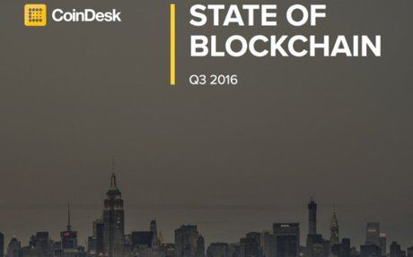 2016-11 CoinDesk Report: 6 Takeaways From CoinDesk's Q3 State of Blockchain