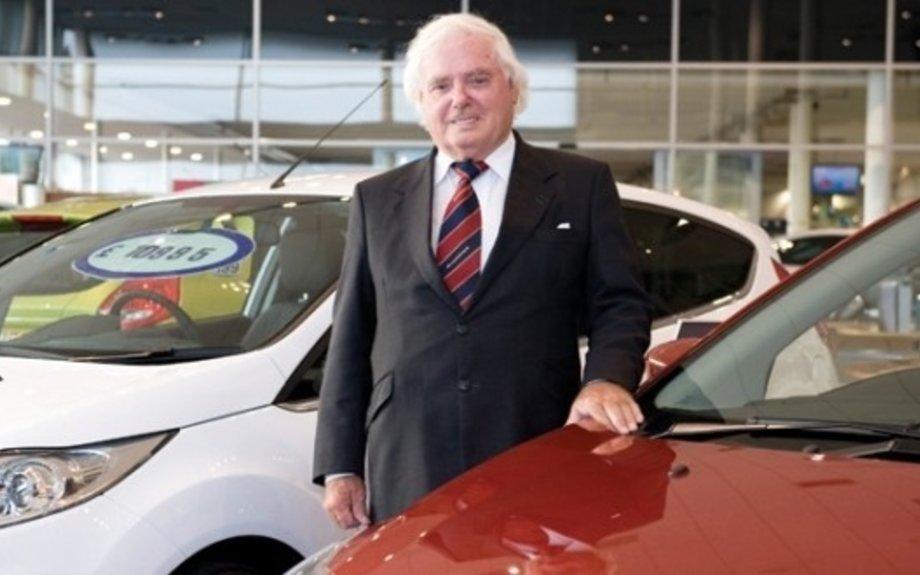 Scottish car dealer Sir Arnold Clark dies aged 89