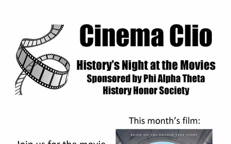 September 28, 2018: Phi Alpha Theta Student Activities