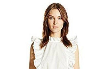 Amazon.com: Rebecca Taylor Women's Sl Pop Pleat Top: Clothing