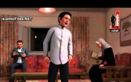 مسلسل كارتون شيخ المجاهدين احمد ياسين الحلقة 1