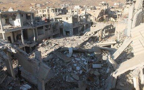 """مشاريع محلي الزبداني متوقفة لسيطرة """"حزب الله"""" على الأرض"""