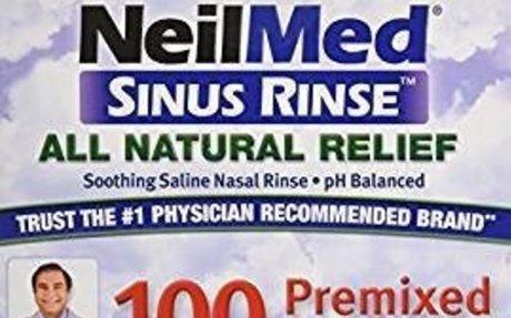 Amazon.com: Sinus Rinse Regular Mixture Packets - Relieves Allergies & Sinus Symptoms, 100