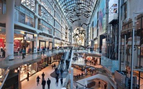Mall Profile: CF Toronto Eaton Centre