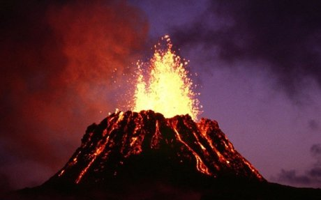 How do volcanoes affect world climate?