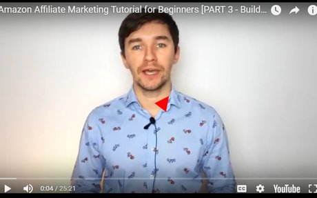 Amazon Affiliate Marketing Tutorial for Beginners [PART 3 – Building a Website with Wix]
