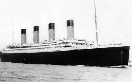 Time Machine (1912): Wreck of the White Star liner Titanic