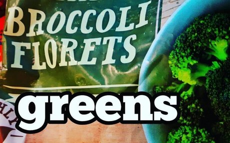 get your greens in