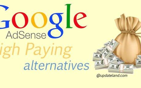 10 Best Google Adsense Alternatives 2016 (High Paying)