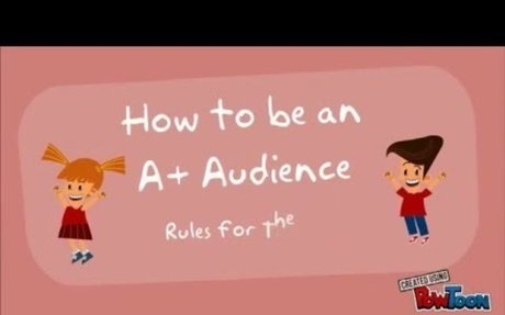 2016-17 A+ Audience Theater Etiquette video