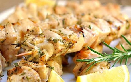 Rosemary-Garlic Chicken Kabobs