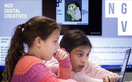 NGV Digital Creatives   Art/Code/Create Workshops
