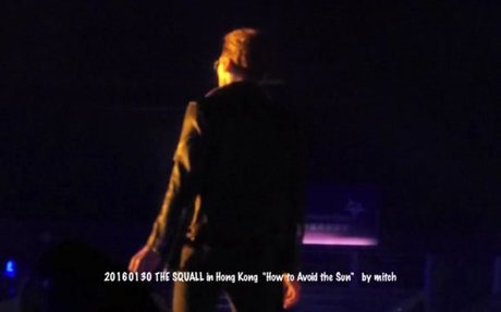 160130 RAIN - THE SQUALL in Hong Kong - How To Avoid The Sun+Bad Guy+Film [Fancam-22]