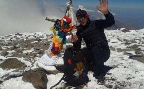 """Karl Egloff poniendo de moda el """"Speed Climbing"""" con el récord de velocidad en el Aconcagu"""