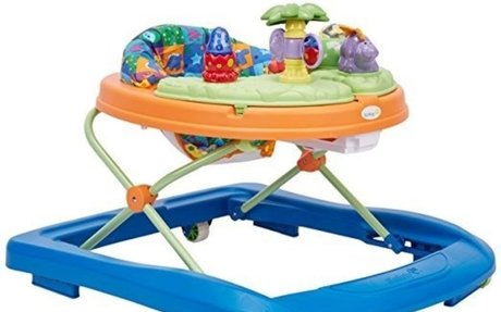 Amazon.com : Safety 1st Dino Sounds 'n Lights Discovery Baby Walker with Activity Tray : B