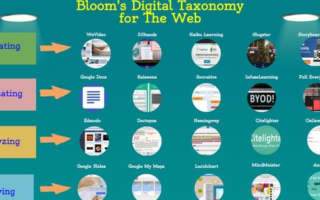 A New Visual On Bloom's Taxonomy for The Web