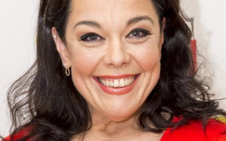 Lisa Riley shows before and after pics as she has op to lose 1.5st of loose skin