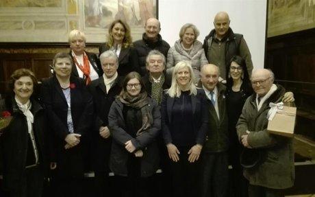 """""""Amici di Polonia in Umbria"""": incontro a Gubbio con la scuola polacca Anders di Perugia. S"""