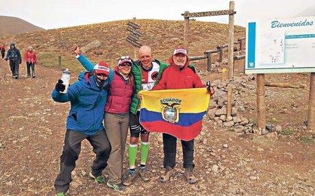 Karl Egloff se consagra como el hombre más veloz en el Aconcagua (Infografía yVideo)