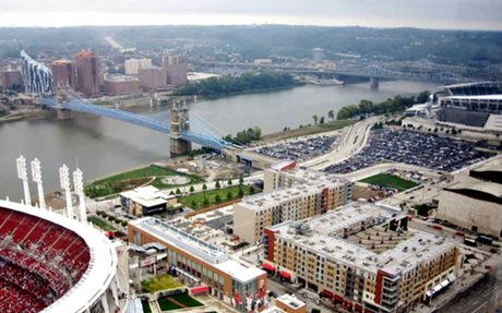Cincinnati: Best laid plans? How The Banks project differs from its 2007 master plan