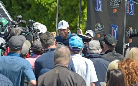 MICHAEL BAMBERGER STILL HAS QUESTIONS FOR TIGER