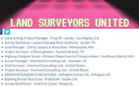 Surveying Jobs - Jobs Feeds