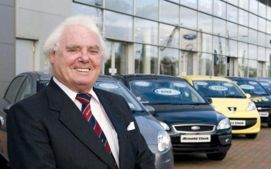 Scots billionaire car tycoon Sir Arnold Clark dies aged 89