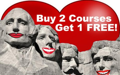 Valentine's and President's Day Sale at PDResources - Buy Two Courses Get One Free - PDRes