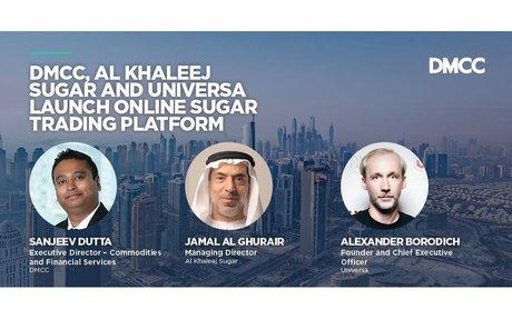 DMCC, Al Khaleej Sugar and Universa Launch Online Sugar Trading Platform