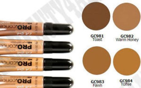 LA Girl HD Conceal High Definition Concealer(pack of 3) (choose your shade)