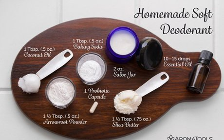 Homemade Soft Deodorant | Aromatools Blog