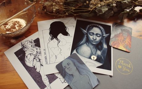 My print and originals Shop!