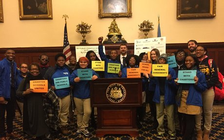 As SRC nears end, Philly charter schools turn up the heat on City Hall : Education : WHYY