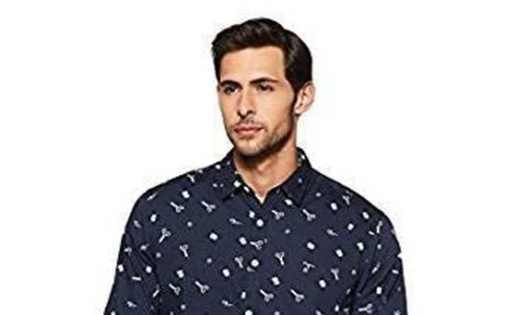 Flying Machine Men's Casual Shirt: Amazon.in: Clothing & Accessories