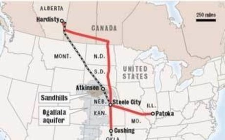 The New Administration OK's Renewal of Canada-to-Texas Oil Pipeline Projects