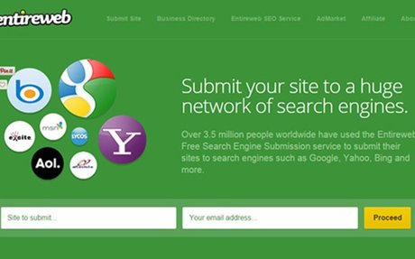 Free Web Submission is the source for free search engine submission