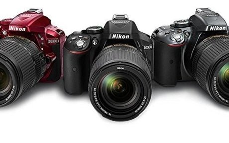 Buy Nikon D5300 24.2MP Digital SLR Camera(Black) with AF-P 18-55 and AF-P DX NIKKOR 70-300