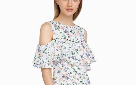 NEW PIXIE MARKET WOMENS PHOEBE FLORAL ASYMMETRIC DRESS  | eBay