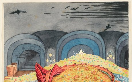 Long in the Shadows, 'Lord of the Rings' Author JRR Tolkien's Fantastical Artworks Are Now