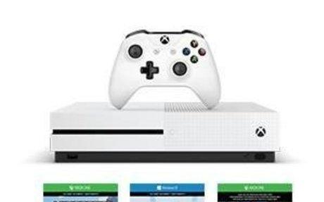 Amazon.com: Xbox One S 500GB Console - Minecraft Bundle: Video Games