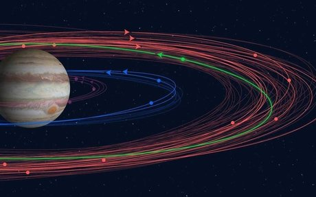"""Astronomers Discover Odd """"Valetudo"""" In 12 New Moons Of Jupiter"""