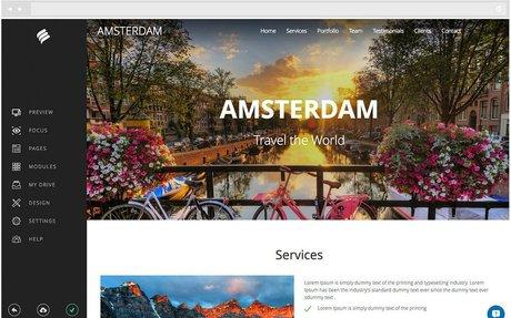 Start your Website, with Bookmark's Website Builder