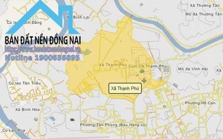 Bán đất tại xã Thạnh Phú, Huyện Vĩnh Cửu