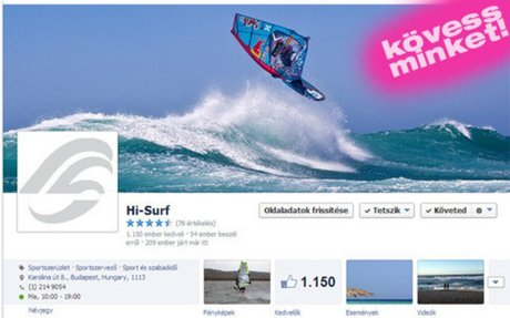 Hi-Surf: főoldal