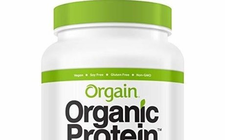 Orgain Organic Plant Based Protein Powder, Creamy Chocolate Fudge, Vegan, Gluten Free, Kos